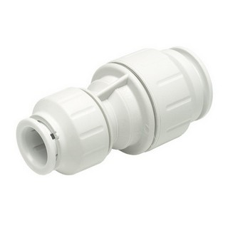 JOHN GUEST SPEEDFIT PEM202215W REDUCING STRAIGHT CONNECTOR 22X15MM WHITE