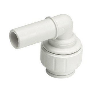 JOHN GUEST SPEEDFIT PEM222222W STEM ELBOW 22X22MM WHITE