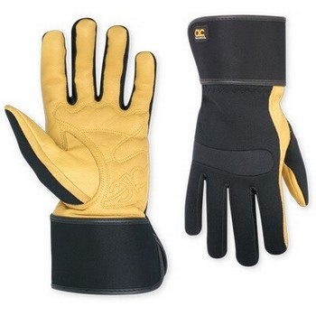 KUNY'S 270 HYBRID TOP GRAIN LEATHER CUFF GLOVE