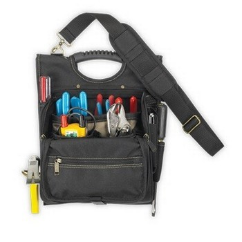 KUNY'S EL1509 21 POCKET ELECTRICIANS ZIP POUCH