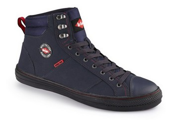 LEE COOPER LCSHOE022 SAFETY BOOTS NAVY (Size 12)
