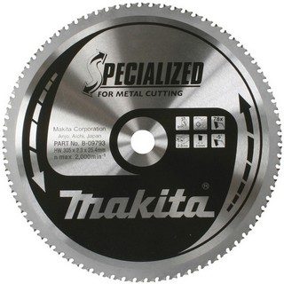 MAKITA B-09793 METAL CUTTING SAW BLADE 78TX25.4X305MM