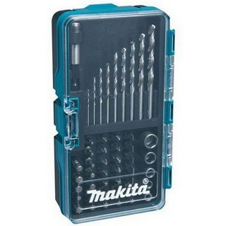MAKITA B-36192 48 PIECE HSS-G DRILLBIT, SCREW DRIVER AND SOCKET BIT SET