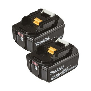 MAKITA BL1850 18V 5.0AH LITHIUM-ION BATTERY TWIN PACK