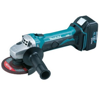 MAKITA DGA452RFJ 18V 115MM ANGLE GRINDER WITH 2X 3.0AH LI-ION BATTERIES SUPPLIED IN MAKPAC CASE