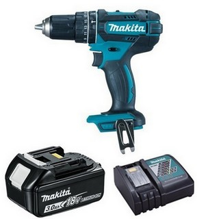 MAKITA DHP482R1 18V COMBI HAMMER DRILL WITH 1X 3.0AH LI-ION BATTERY & CHARGER (SUPPLIED IN CARTON)