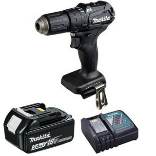 MAKITA DHP483BR1 18V COMBI HAMMER DRILL WITH 1X 3.0AH LI-ION BATTERY & CHARGER (SUPPLIED IN CARTON)