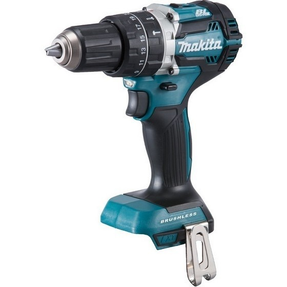 MAKITA DHP484RMJ 18V BRUSHLESS COMBI HAMMER DRILL WITH 2 X 4.0AH LI-ION BATTERIES SUPPLIED IN MAKPAC CASE