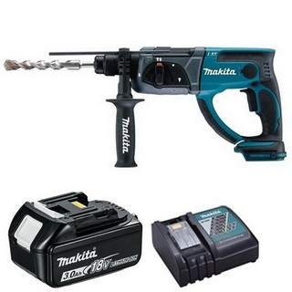 MAKITA DHR202R1 18V SDS+ HAMMER DRILL WITH 1X 3.0AH LI-ION BATTERY & CHARGER (SUPPLIED IN CARTON)