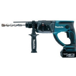 MAKITA DHR202RTJ 18V SDS+ HAMMER DRILL WITH 2X 5.0AH LI-ION BATTERIES SUPPLIED IN MAKPAC CASE