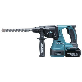 MAKITA DHR242RTJ 18V BRUSHLESS 3 MODE SDS+ HAMMER DRILL 2X 5.0AH LI-ION BATTERIES SUPPLIED IN MAKPAC CASE