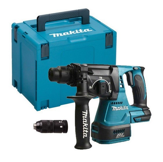 MAKITA DHR243ZJ 18V BRUSHLESS 3 MODE SDS+ HAMMER DRILL WITH QUICK CHANGE CHUCK (BODY ONLY) SUPPLIED IN MAKPAC CASE