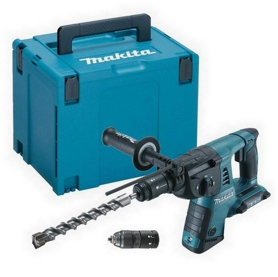 MAKITA DHR264ZJ TWIN 18V ROTARY SDS+ HAMMER DRILL (BODY ONLY) SUPPLIED IN MAKPAC CASE