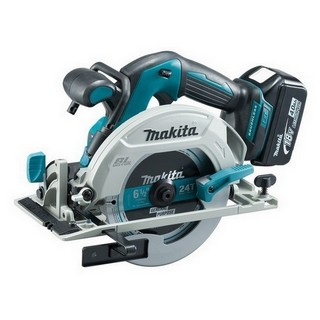 MAKITA DHS680RTJ 18V BRUSHLESS CIRCULAR SAW WITH 2X 5.0AH LI-ION BATTERIES SUPPLIED IN MAKPAC CASE