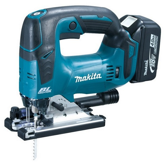 MAKITA DJV182RFJ 18V BRUSHLESS JIGSAW WITH 2X 3.0AH LI-ION BATTERIES SUPPLIED IN MAKPAC CASE