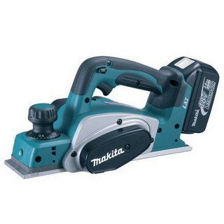 MAKITA DKP180RTJ 18V CORDLESS PLANER WITH 2X 5.0AH LI-ION BATTERIES SUPPLIED IN MAKPAC CASE