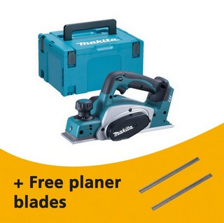 MAKITA DKP180ZJ 18V CORDLESS PLANER (BODY ONLY) SUPPLIED IN MAKPAC CASE