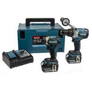 MAKITA DLX2176RFJ 18V BRUSHLESS TWIN PACK WITH 2X 3.0AH LI-ION BATTERIES