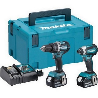 MAKITA DLX2180TJ 18V BRUSHLESS TWIN PACK WITH 2X 5.0AH LI-ION BATTERIES