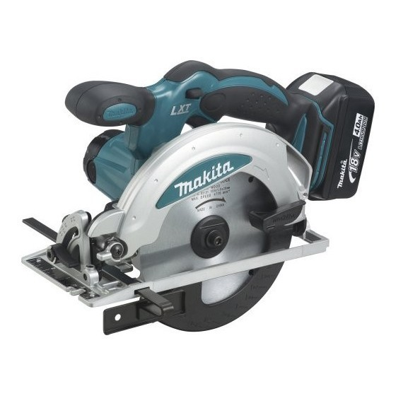 MAKITA DSS610RTJ 18V CIRCULAR SAW WITH 2X 5.0AH LI-ION BATTERIES SUPPLIED IN MAKPAC CASE