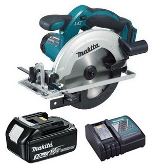 MAKITA DSS611R1 18V CIRCULAR SAW WITH 1X 3.0AH LI-ION BATTERY & CHARGER (SUPPLIED IN CARTON)