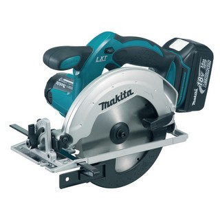 MAKITA DSS611RMJ 165MM 18V CIRCULAR SAW WITH 2X 4.0AH LI-ION BATTERIES