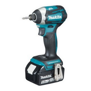 MAKITA DTD154RTJ 18V BRUSHLESS IMPACT DRIVER WITH 2X 5.0AH LI-ION BATTERIES SUPPLIED IN A MAKPAC CASE