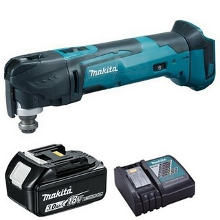 MAKITA DTM51ZR1 18V MULTI TOOL WITH 1X 3.0AH LI-ION BATTERY & CHARGER (SUPPLIED IN CARTON)