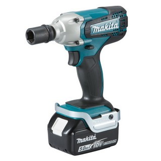 MAKITA DTW190RTJ 18V 1/2IN IMPACT WRENCH WITH 2X 5.0AH LI-ION BATTERIES SUPPLIED IN MAKPAC CASE