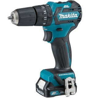 MAKITA HP332DSAJ 10.8V BRUSHLESS CXT COMBI HAMMER DRILL WITH 2X 2.0AH L-ION BATTERIES