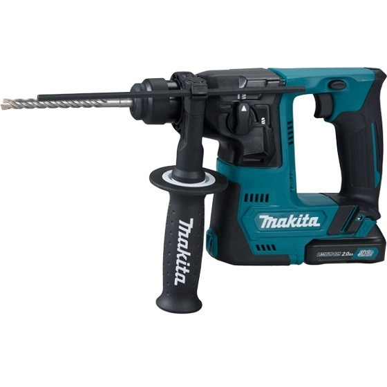 MAKITA HR140DWAE1 12V CXT SDS+ ROTARY HAMMER DRILL WITH 2X 2.0AH LI-ION BATTERIES