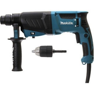MAKITA HR2630X7 SDS+ ROTARY HAMMER DRILL KIT WITH CHUCK 240V