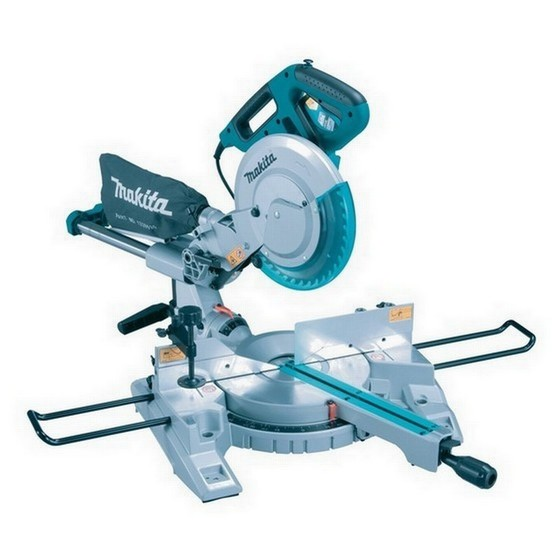 MAKITA LS1018L 260MM SLIDE DOUBLE BEVEL MITRE SAW 110V