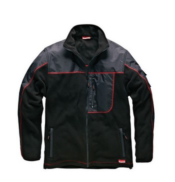 MAKITA MW219 AVT FLEECE JACKET BLACK (LARGE)