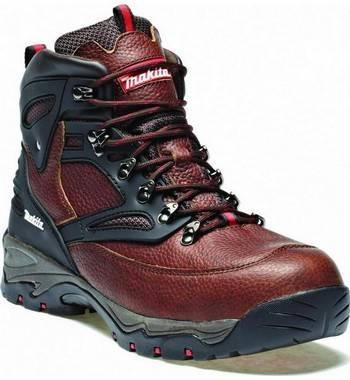 Makita MW349 XPT Safety Boot Size 8 Brown