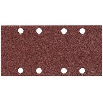 MAKITA P-31893 PACK OF 10 PUNCHED 1/3 SANDING SHEET 80 GRIT 93X185MM