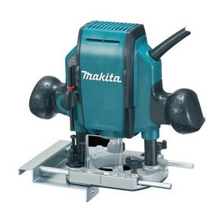 MAKITA RP0900X 1/4 INCH & 3/8 INCH PLUNGE ROUTER 240V