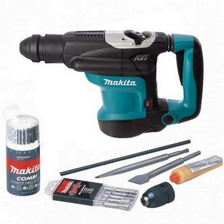 MAKITA S-MAK32C/2 (HR3210C) SDS PLUS ROTARY HAMMER DRILL 4KG+ 240V + ACCESSORIES