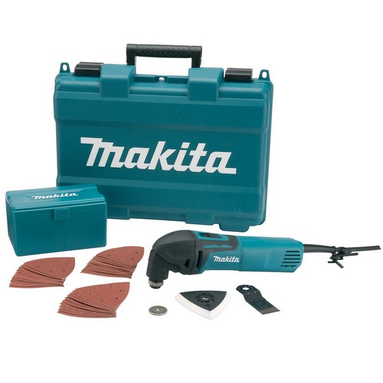 MAKITA TM3000CX4 OSCILLATING MULTI TOOL 240V WITH 33 ACCESSORIES