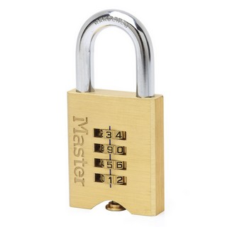 MASTER LOCK 651EURD COMBINATION PADLOCK 50X32MM