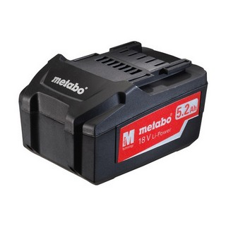 METABO 18V 5.2AH LITHIUM ION BATTERY PACK