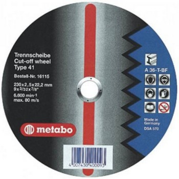 METABO 616109000 BLADE 150X2.0X22.23MM