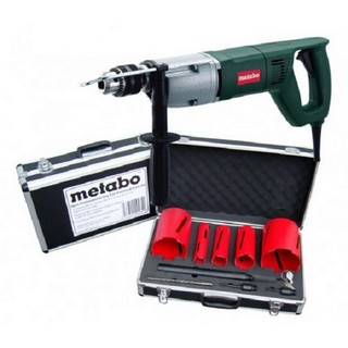 METABO BDE1100 CORE DRILL 240V WITH 5 PIECE DIAMOND CORE SET & HEAVY DUTY TOOLBAG