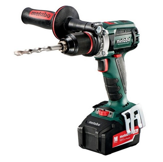 METABO BS18 LTX-BL 18V BRUSHLESS QUICK IMPULS DRILL DRIVER WITH 2X 5.2AH LI-ION BATTERIES