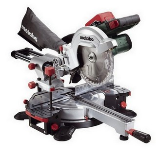 METABO KGS18 LTX 18V 216MM MITRE SAW WITH 2X LiHD 5.5AH LI-ION BATTERIES