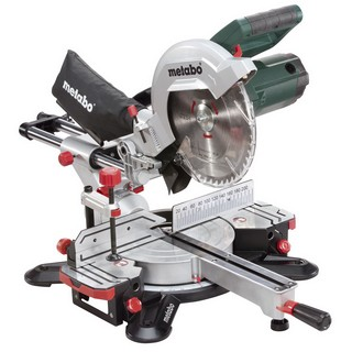 METABO KGS254M 254MM SLIDING MITRE SAW 1800 WATT 240V