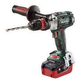 METABO SB18 LTX QUICK 18V IMPULSE COMBI HAMMER DRILL WITH 2X LiHD 5.5AH LI-ION BATTERIES
