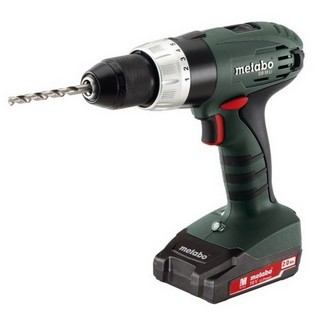 METABO SB18LI2 18V COMBI HAMMER DRILL WITH 2X 2.0AH LI-ION BATTERIES
