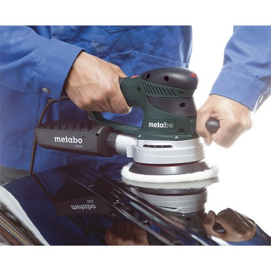 METABO SXE450 TURBO TEC DUO ORBITAL SANDER 150MM 240V