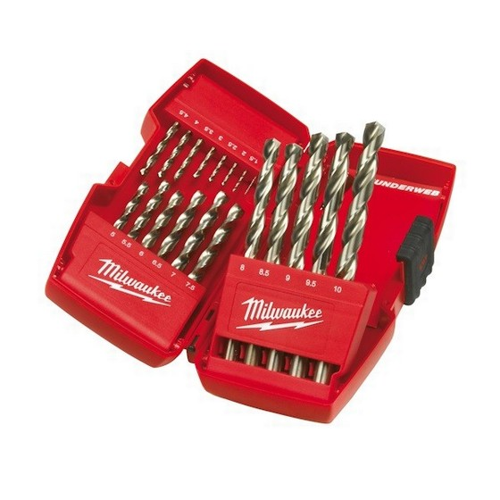 MILWAUKEE 4932352374 THUNDERWEB HSS-G 19 PIECE DRILL SET
